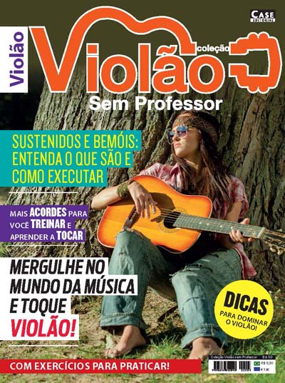 Coleção Violão Sem Professor - Edição 03  - Case Editorial