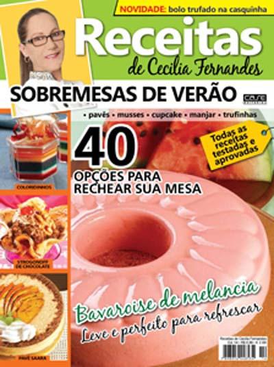 Receitas de Cecilia Fernandes - VERSÃO PARA DOWNLOAD  - Case Editorial