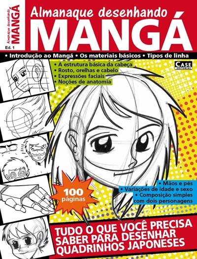 Almanaque Desenhando Mangá - Edição 01 - VERSÃO PARA DOWNLOAD  - Case Editorial