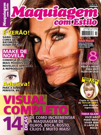 Maquiagem Com Estilo - VERSÃO PARA DOWNLOAD  - Case Editorial
