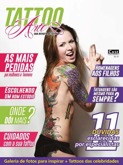 Tattoo Arte - Edição 01 - VERSÃO PARA DOWNLOAD  - EdiCase Publicações