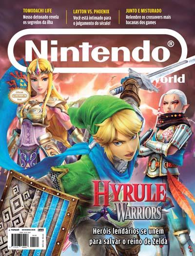 Nintendo World - Edição 184 - VERSÃO PARA DOWNLOAD  - Case Editorial