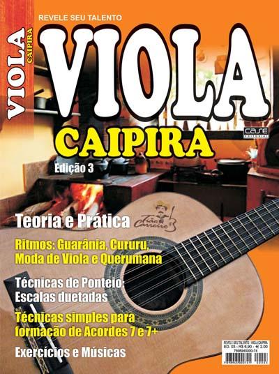 Revele Seu Talento Viola Caipira - Edição 03 - VERSÃO PARA DOWNLOAD  - EdiCase Publicações