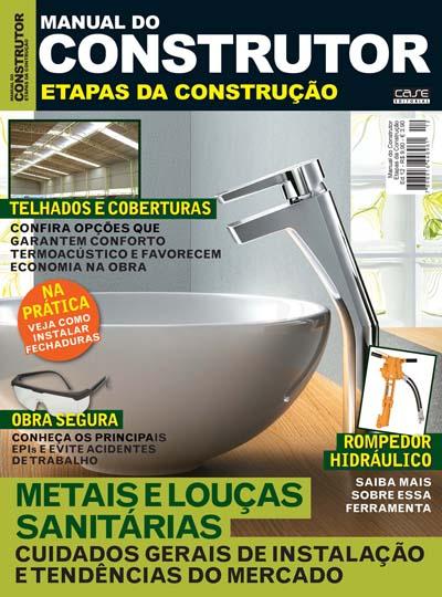 Manual do Construtor Etapas da Construção - Edição 12 - VERSÃO PARA DOWNLOAD  - Case Editorial