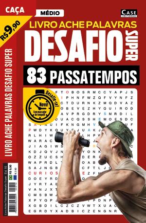 Livro Ache Palavras Desafio Super - Edição 16  - Case Editorial