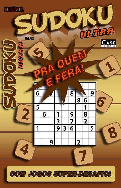 Sudoku Ultra - Edição 12  - Case Editorial