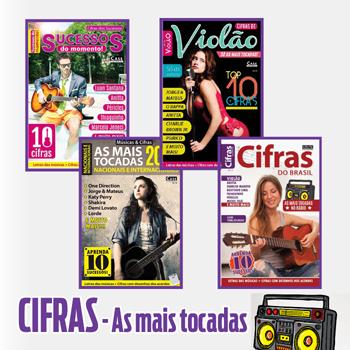 Seleção Cifras - As Mais Tocadas - VERSÃO PARA DOWNLOAD  - EdiCase Publicações