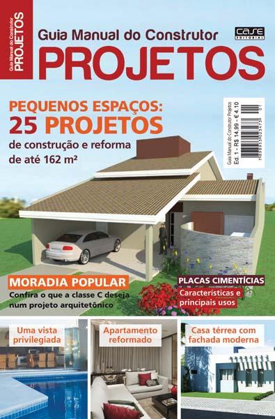 Guia Manual do Construtor Projetos - Escolha sua Edição - VERSÃO PARA DOWNLOAD  - EdiCase Publicações