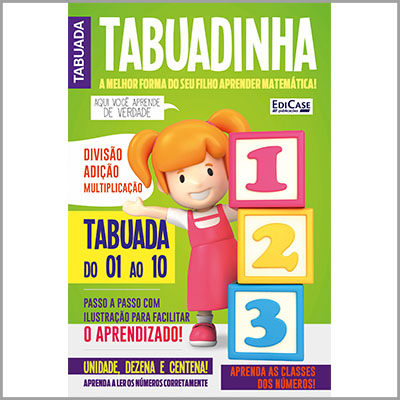 Tabuadinha - Ed. 01  - Case Editorial