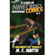 Minecraft Comics: A Lenda de Herobrine - Ed. 02