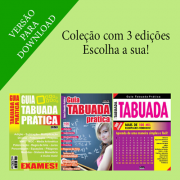 Guia Tabuada Prática - Escolha sua Edição - VERSÃO PARA DOWNLOAD