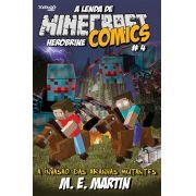 Minecraft Comics: A Lenda de Herobrine - Ed. 04