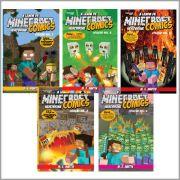 Minecraft Comics: A Lenda de Herobrine - Cole��o