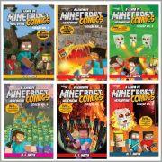 Minecraft Comics: A Lenda de Herobrine - Coleção