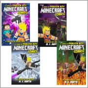 Minecraft Comics: A Lenda de Dragon Boy
