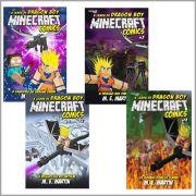 Minecraft Comics: A Lenda de Dragon Boy - ESCOLHA SUA EDIÇÃO