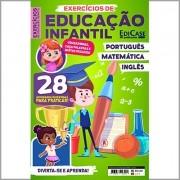 Exercícios de Educação Infantil - Ed. 01 (Português, Matemática e Inglês)