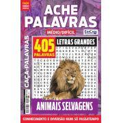 Ache Palavras Ed. 67 - Médio/Difícil - Letras Grandes - Tema: Animais Selvagens