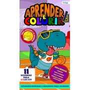 Aprender e Colorir Ed. 25 - 11 Desenhos para Colorir - PRODUTO DIGITAL (PDF)