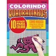 Colorindo Quadradinhos Ed. 01 - 10 Ilustrações Para Colorir