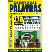 Desafio das Palavras Ed. 07 - Fácil/Médio - Tema: Grandes Nomes da Música Brasileira - Letras Grandes