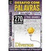Desafio das Palavras Ed. 12 - Fácil/Médio - Letras Grandes - Tema: Diversos