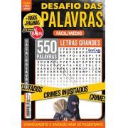 Desafio das Palavras Ed. 17 - Fácil/Médio - Letras Grandes - Crimes Inusitados