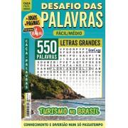 Desafio das Palavras Ed. 18 - Fácil/Médio - Letras Grandes - Turismo no Brasil