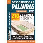 Descobrindo as Palavras Ed. 40 - Fácil/Médio - Letras Grandes - Os Maiores Eventos Esportivos do Mundo
