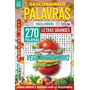 Descobrindo as Palavras Ed. 44 - Fácil/Médio - Letras Grandes - Vegetarianismo