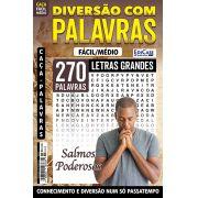 Diversão Com Palavras Ed. 29 - Fácil/Médio - Letras Grandes - Tema: Salmos Poderosos