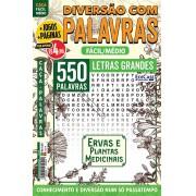 Diversão Com Palavras Ed. 32 - Fácil/Médio - Letras Grandes - Ervas e Plantas Medicinais