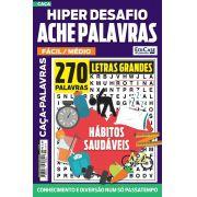 Hiper Desafios Ache Palavras Ed. 58 - Fácil/Médio - Letras Grandes - Tema: Hábitos Saudáveis