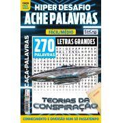 Hiper Desafios Ache Palavras Ed. 62 - Fácil/Médio - Letras Grandes - Tema: Teorias da Conspiração