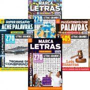 Kit Caça-Palavras - Jun/19 - 4 Revistas