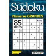 Livro Sudoku Ed. 02 - Médio/Difícil - Com Números Grandes - Só Jogos 9x9