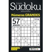 Livro Sudoku Ed. 03 - Médio/Difícil - Com Números Grandes - Só Jogos 9x9