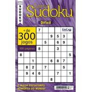 Livro Sudoku Ed. 06 - Difícil - Com Marcador de Tempo - Só Jogos 9x9
