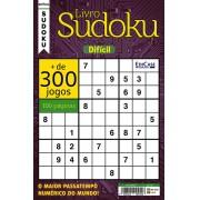 Livro Sudoku Ed. 10 - Difícil - Com Marcador de Tempo - Só Jogos 9x9