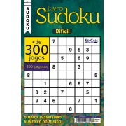 Livro Sudoku Ed. 11 - Difícil - Com Marcador de Tempo - Só Jogos 9x9
