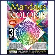 Mandalas Para Colorir Ed. 01 - Pôster