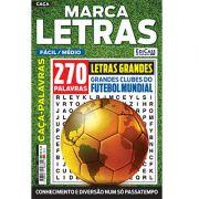 Marca Letras Ed. 49 - Fácil/Médio - Letras Grandes - Tema: Grandes Clubes do Futebol Mundial