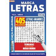 Marca Letras Ed. 52 - Fácil/Médio - Letras Grandes - Tecnologias Que Podem Mudar o Mundo
