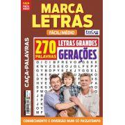 Marca Letras Ed. 53 - Fácil/Médio - Letras Grandes - Gerações