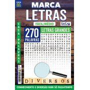 Marca Letras Ed. 56 - Fácil/Médio - Letras Grandes - Diversos