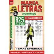 Marca Letras Ed. 62 - Médio/Difícil - Letras Grandes - Temas Diversos