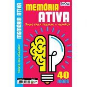 Memória Ativa Ed. 01 - Jogos Para Treinar a Memória