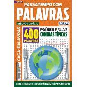 Passatempos Com Palavras Ed. 74 - Médio/Difícil - Tema: Países e Suas Comidas Típicas