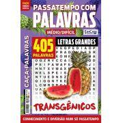 Passatempos Com Palavras Ed. 78 - Médio/Difícil - Letras Grandes - Transgênicos
