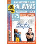 Passatempos Com Palavras Ed. 83 - Médio/Difícil - Letras Grandes - Dicas de Autoajuda